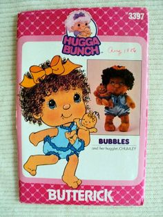 Vintage  Bubbles and Her Hugglet Chumley  by DocksideDesignsEtc, $10.00
