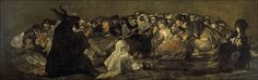 Francisco de Goya y Lucientes - Witches' Sabbath (The Great He-Goat) - Francisco Goya - Wikipedia