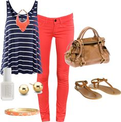 Spring Sailor, created by stephaniemd7 on Polyvore