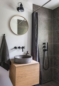 Baderomsvask av restmaterialer #minimalistbathroom