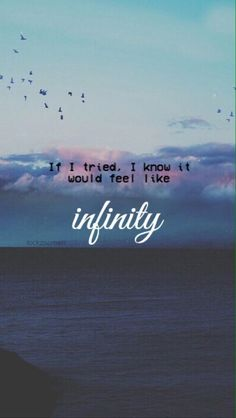 Infinity // One Direction Lyrics #MadeInTheAM