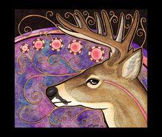 White-Tail Deer as Totem by Ravenari.deviantart.com on @deviantART