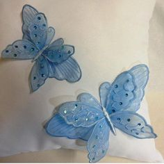(10) Name: 'Embroidery : Lace Butterfly 1