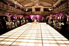 Love this dance floor...love the whole room!