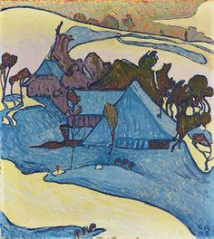 Winterlandschaft, Cuno Amiet