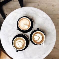 Coffee hangs with ma girls! #sisterhood #Latteart