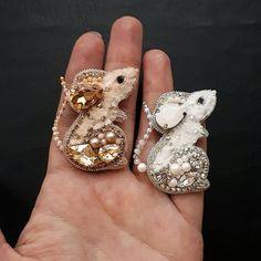 Crochet Brooch, Beaded Brooch, Beaded Earrings, Beaded Jewelry, Bead Embroidery Jewelry, Ribbon Embroidery, Beaded Embroidery, Jewelry Art, Jewelry Gifts