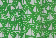 Detail of vintage hand-screened VG shorts, size 18 from ebay.