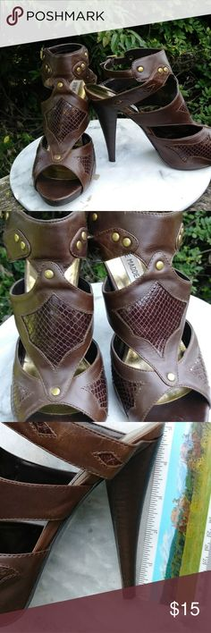 Steve madden Madalynn gladiator heel
