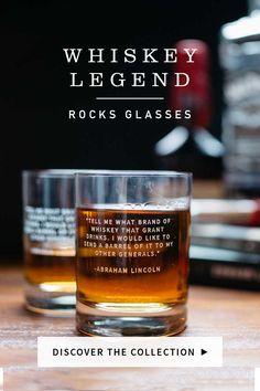 Whiskey Legends Glasses