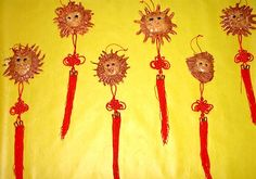 auspicious lions craft