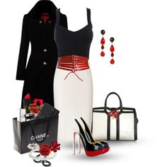 A fashion look from August 2013 featuring Vivienne Westwood Red Label coats, Donna Karan skirts y Yves Saint Laurent tote bags. Browse and shop related looks.