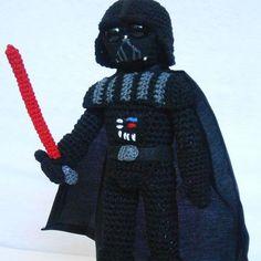 Mesmerizing Crochet an Amigurumi Rabbit Ideas. Lovely Crochet an Amigurumi Rabbit Ideas. Amigurumi Animals, Amigurumi Doll, Crochet Animals, Darth Vader Star Wars, Star Wars Crochet, Crochet Stars, Crochet Gratis, Cute Crochet, Crochet Ideas