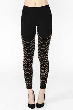 Off The Chain Leggings.  Ok, i'll admit these are pretty great.  probably not comfortable, but pretty great.