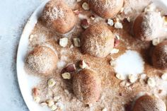 Cinnamon Roll Bliss Balls