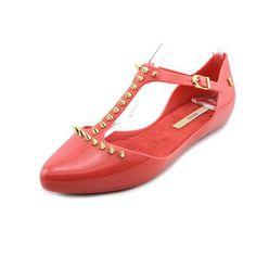 Melissa Women's Doris Spiked T Strap Flats, Red, 8 B(M) US Melissa http://www.amazon.com/dp/B00I3RMVZY/ref=cm_sw_r_pi_dp_2oyEwb1C0JN88