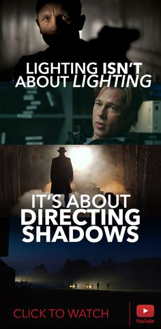 The greatest thing we have ever come to understand about lighting is this. #film #lighting