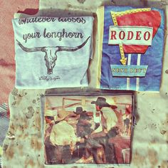 Rodeo graphic tees for the cowgirl in us all { The Wacky Wagon Thread Co.}