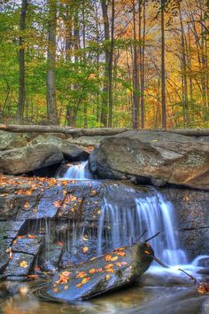 HackleBarney State Park in New Jersey.