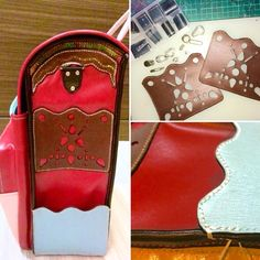 Hole Punch, Handmade Bags, Pocket, Stitch, Wallet, Facebook, Detail, Twitter, Box