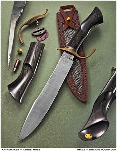 Show me your custom camp knife/chopper. - Page 26