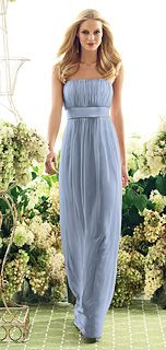 106: Cloudy: (blue)...like the color for bridesmaid dress & style