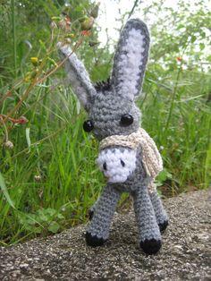 Amigurumi donkey crochet pattern Crochet donkey toy pdf