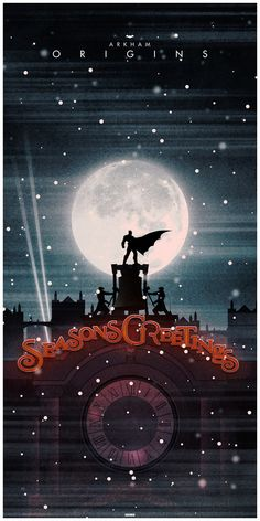 """Batman: Seasons Greetings"" - by Matt Ferguson Note: A Reference to Batman: ""Arkham Origins"" the videogame"