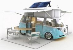 Westfalia Verdier Camper Van Now this is the way to camp:) - This looks pretty awesome!