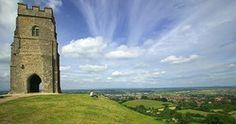 Glastonbury Tor ©VisitBritain Martin Brent, where my heart lives! Chakra Locations, English Legends, Glastonbury Tor, Earth Spirit, Roman History, In Ancient Times, British History, Pagan, Wicca