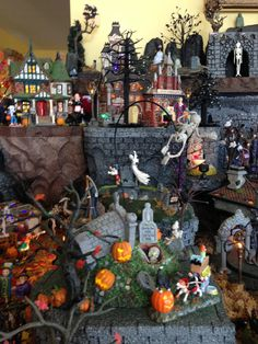 D56 Halloween Village