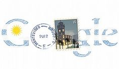 August 25th, Independence day in Uruguay deserved the Montevideo Google Doodle.