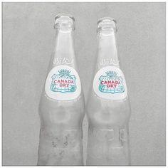 Vintage Items of the Week ! Canada Dry Bottles From the 80s !  غراش / زجاجات كاندا دراي قديمة من الثمانينيات