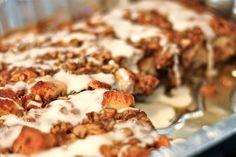 Baked French Toast with Refrigerated Cinnamon Rolls