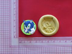 Sonic Character Hedgehog Silicone Push Mold A946 Chocolate Fondant Sugarcraft #LobsterTailMolds