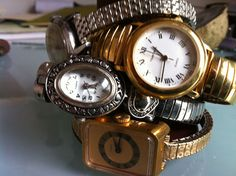 vintage stacking watches