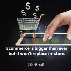 Grocery ecommerce is here to stay, but it still won't replace in-store. Retailers must connect the two for shoppers to stay relevant.  #retail #grocery #ecommerce Ecommerce, Connect, Gap, Two By Two, Retail, Marketing, Store, Larger, E Commerce