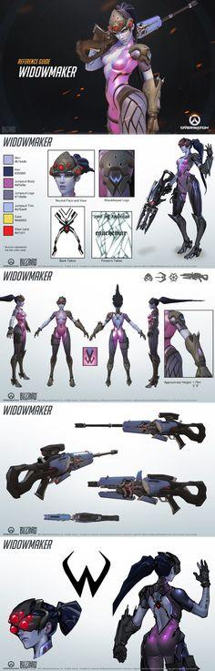 Overwatch - Widow Maker Reference Guide