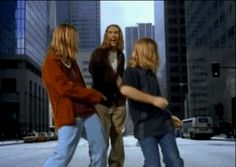 You remember the Hanson brothers. Three adorable guys just singing a song about some MmmBops like nobody's business. Aww, so cute!!