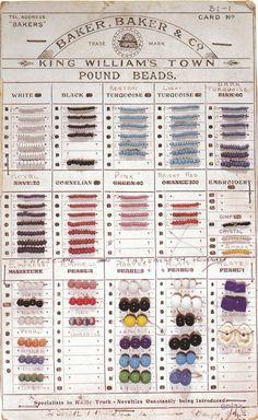 Trade Bead Card Baker Baker & Co..jpg (430×700)