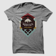 Mountain Explorer, Order HERE ==> https://www.sunfrog.com/Outdoor/2943008-44233842.html?9410, Please tag & share with your friends who would love it, hiker photography, hiker drawing, hiker tattoo #turtle, #humor, #illustrations  take a #hiking shirts, mens #hiking shirts, cute hiking shirts  #architecture #art #cars #motorcycles #celebrities #DIY #crafts #design #education