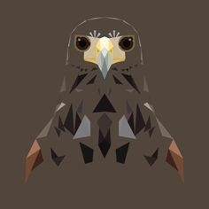 H is for Harris Hawk Print by MatMabeMarketplace on Etsy, £30.00