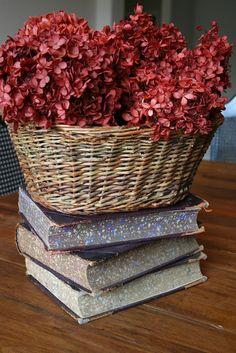 Dried hydrangeas should make a come-back...