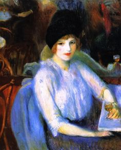 Cafe Lafayette - William James Glackens  1914
