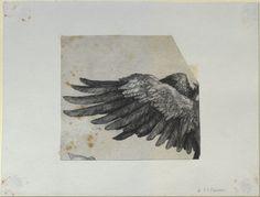 Albrecht Dürer, Nemesis' wing