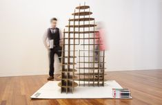Cardboard exhibition pods | Toby Horrocks - Arch2O.com