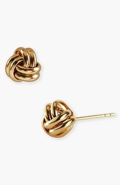 Argento Vivo Knot Stud Earrings available at #Nordstrom