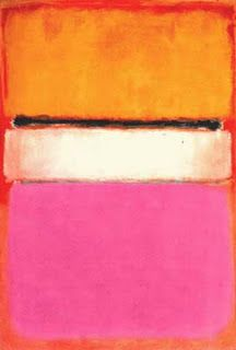 Ah, pink and orange - the happiest of all colour combinations  Rothko