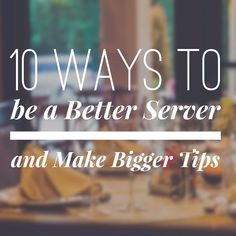 Working as a server? Check out ten highly effective tips to make bigger tips. They're easy enough and surely will put more money in your pocket! Make More Money, Extra Money, Waitressing Tips, Waiter Tips, Server Hacks, Best Server, Server Life, How To Get Bigger, Big Lips