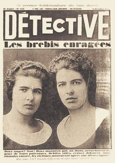 30 Best Christine and Lea Papin images in 2018 | Sisters, Le